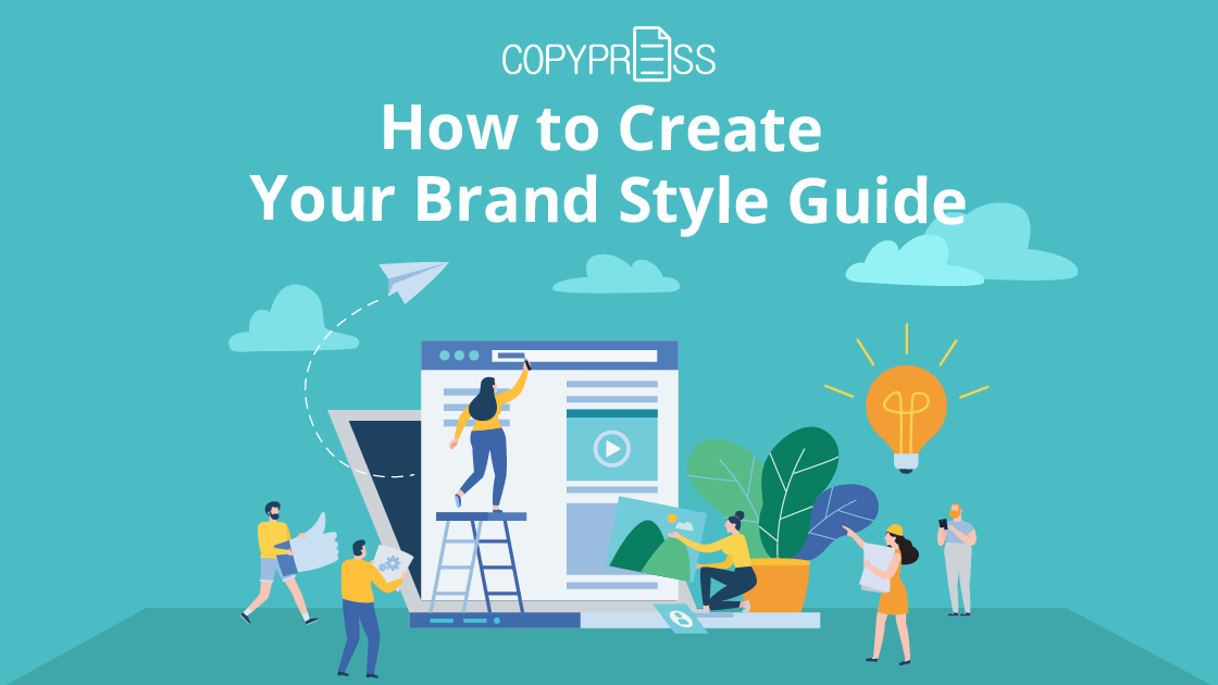 Brand style guide: how to create one