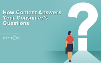 How Content Answers Your Consumer's Questions