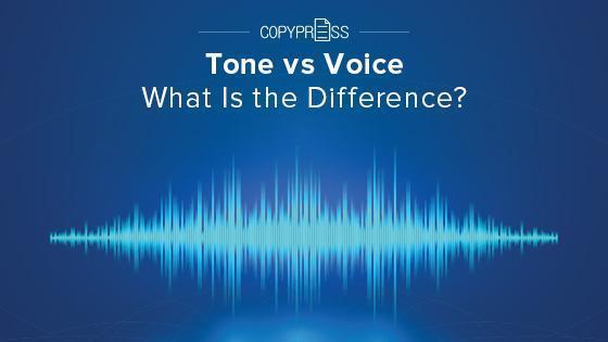 Tone vs voice