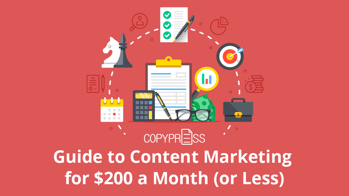 Content marketing to a budget
