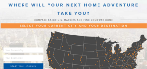 Interactive infographic samples - Homes.com Next home adventure