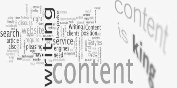 content is king graphic with popular content terms
