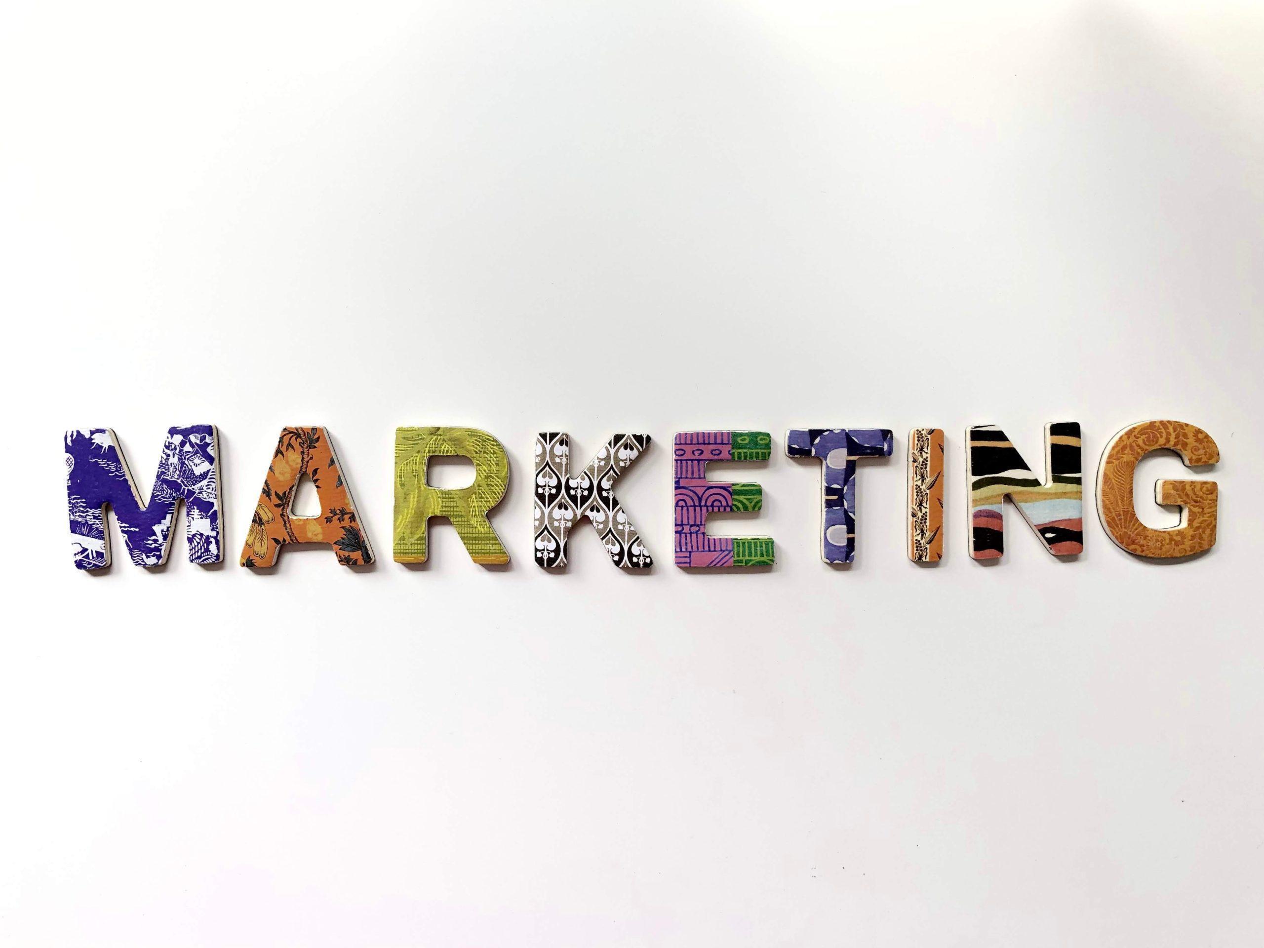 """Marketing"" Graphic"