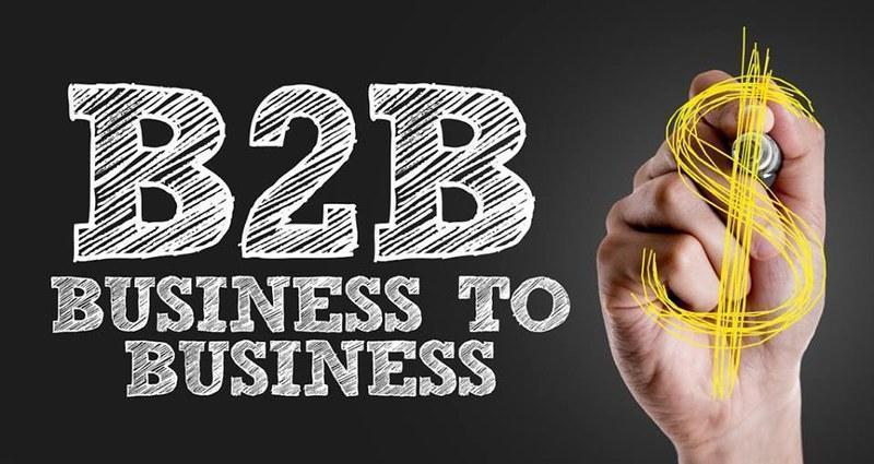 b2b marketing graphic