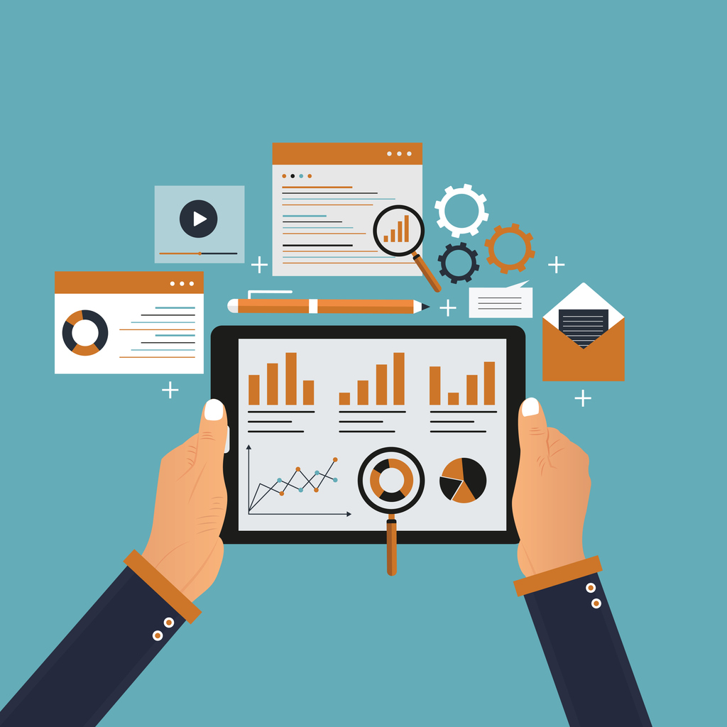 Marketing Data Concept