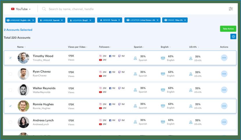 Screenshot of Influsoft
